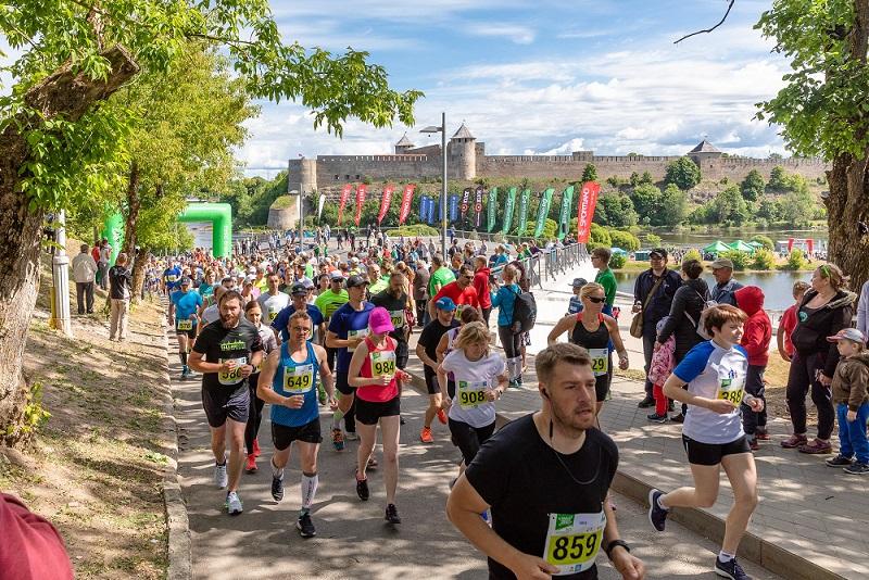 Narva Energiajooks 2018 promenaad