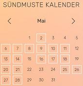 Sündmuste kalender kodulehel